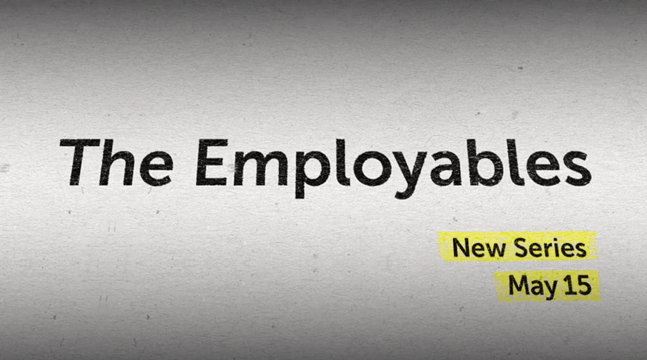 Logo for The Employables tv show on A&E