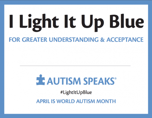 April Is Autism Awareness Month: Are Your Purple or Blue Lights On?