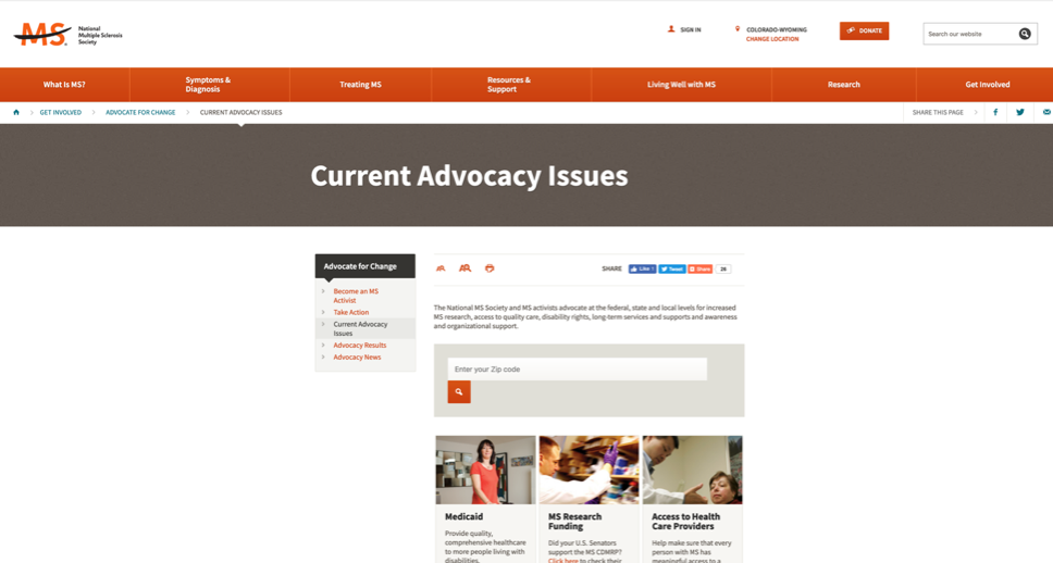 MS advocacy - 10 Ways You Can Honor Multiple Sclerosis Month