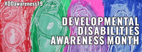 Developmental disabilities month artwork for 2019