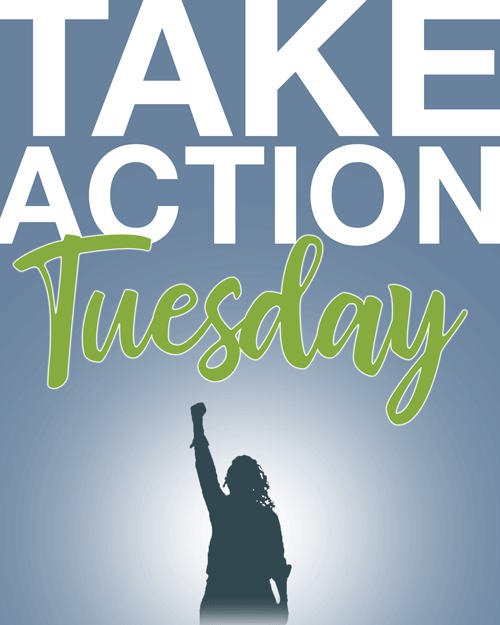 Take Action Tuesday logo