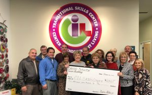Ladies Auxiliary of Scranton Chapter of UNICO Donation to the TSC
