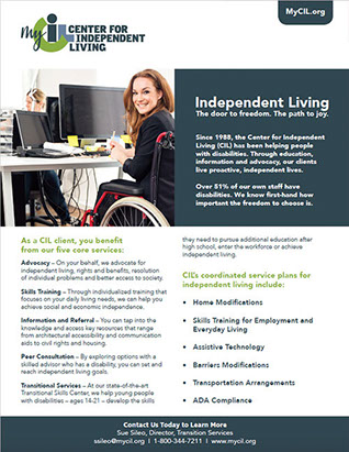 mycil independent living services program overview - Resources & Training